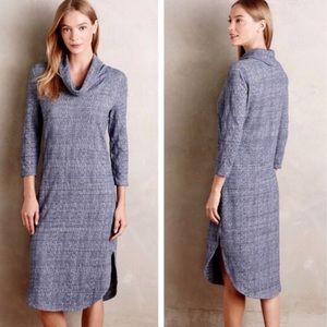 ANTHROPOLOGIE | SATURDAY SUNDAY COWL NECK DRESS